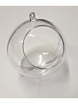 20 sfere plexiglass 6 cm con apertura