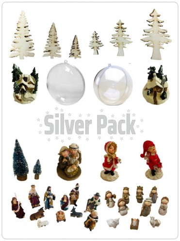 Pack Silver Natale
