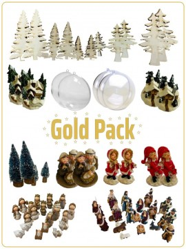 Pack Gold Natale
