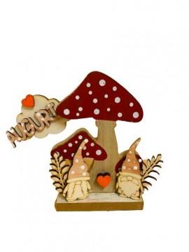 kit gnomi con fungo