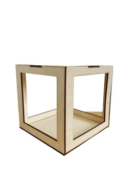 KIT SCATOLA BOX 20 CM