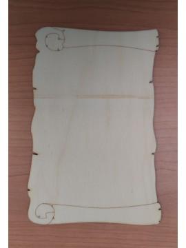 Pergamena3  30x19.5cm spessore 4mm