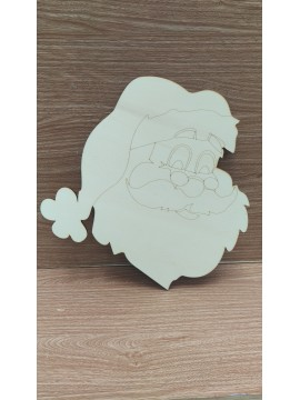 Base Babbo Natale + Kit 3D 30x30.5cm sp 6mm