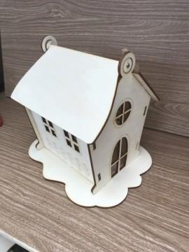 Casa tridimensionale da costruire